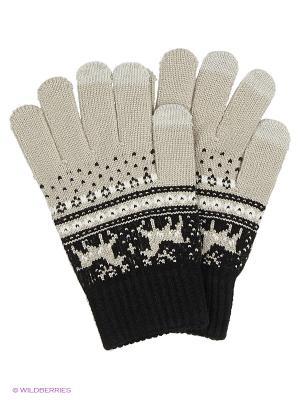 Перчатки для сенсорных экранов TERRITORY. Цвет: серый, черный