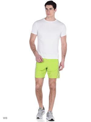 Спортивные шорты TAGERTON. Цвет: салатовый