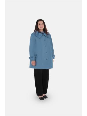 Куртка БаяНа. Цвет: серо-голубой