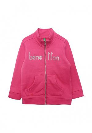 Олимпийка United Colors of Benetton. Цвет: розовый