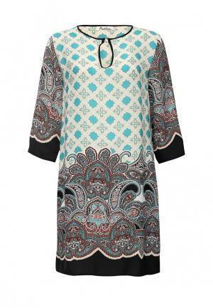 Платье Pinkline. Цвет: разноцветный