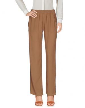 Повседневные брюки ENZA COSTA. Цвет: верблюжий