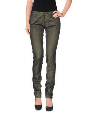 Повседневные брюки SHINE. Цвет: зеленый-милитари