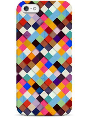 Чехол для Iphone5/5s Sahar. Цвет: антрацитовый, кремовый, сиреневый