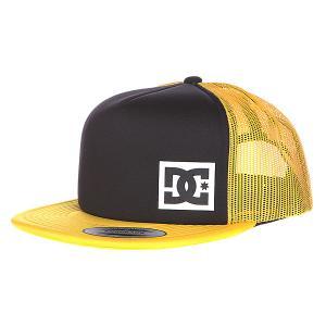 Бейсболка DC Blanderson Hats Black/Freesia Shoes. Цвет: оранжевый,черный