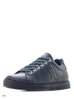 Ботинки Trussardi. Цвет: синий, черный