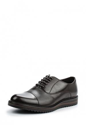 Туфли Montefiori. Цвет: коричневый
