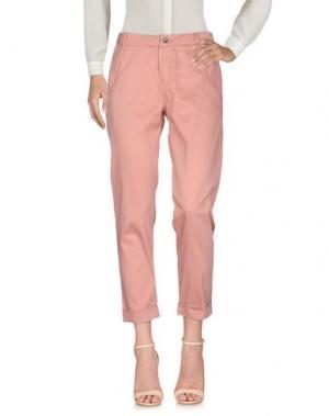 Повседневные брюки CAFèNOIR. Цвет: розовый