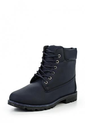 Ботинки Leerd. Цвет: синий