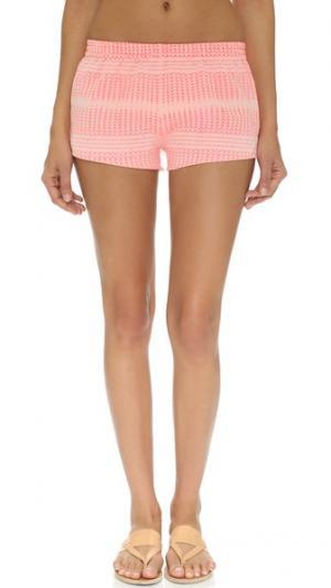 Спортивно-пляжные шорты Surf Bazaar. Цвет: телесный/розовый
