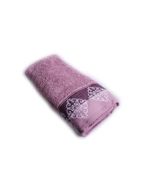Полотенце Arya Maxi Cykia. Цвет: сиреневый, бледно-розовый
