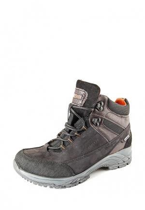 Ботинки трекинговые Greyder. Цвет: коричневый