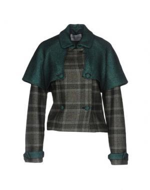 Пальто DAIZY SHELY. Цвет: зеленый