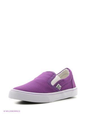 Слипоны 4U. Цвет: серый, фиолетовый