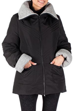 Куртка Mannon. Цвет: черно-серый