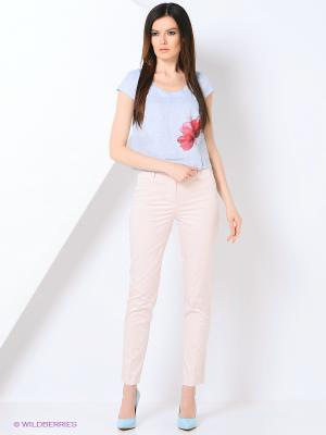 Блузка КАЛIНКА. Цвет: голубой