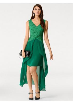 Вечернее платье PATRIZIA DINI by Heine. Цвет: изумрудный