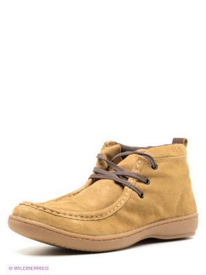 Ботинки WEST COAST. Цвет: бежевый