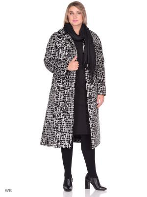 Пальто Fart Favorita. Цвет: серый