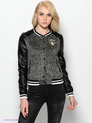 Куртка Ada Gatti. Цвет: серый, белый, черный