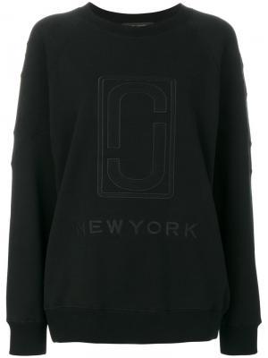 Толстовка с двойной буквой J Marc Jacobs. Цвет: чёрный