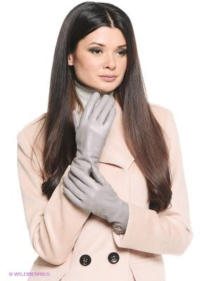 Перчатки Eleganzza. Цвет: светло-серый