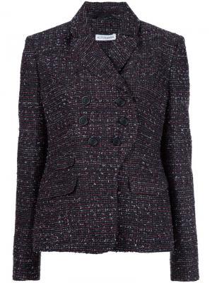 Твидовый пиджак Altuzarra. Цвет: чёрный