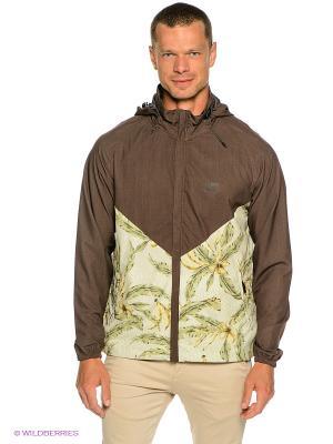 Куртка Crossfire BILLABONG. Цвет: коричневый