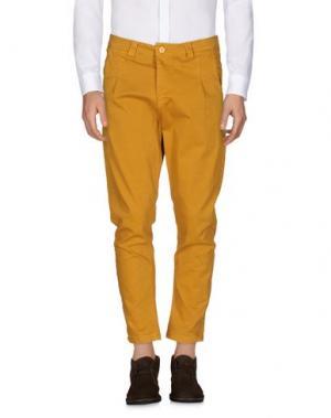 Повседневные брюки EXIBIT. Цвет: охра