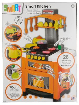 Модная электронная кухня Smart HTI. Цвет: серый, светло-серый, серый меланж, светло-оранжевый, оранжевый