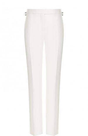 Однотонные расклешенные брюки со стрелками Tom Ford. Цвет: белый