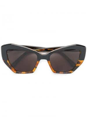 Солнцезащитные очки Brasilia Prism. Цвет: чёрный