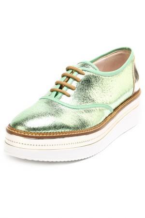 Ботинки Guido Sgariglia. Цвет: зеленый