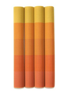 Плейсматы, 4 шт DiMi. Цвет: желтый,оранжевый