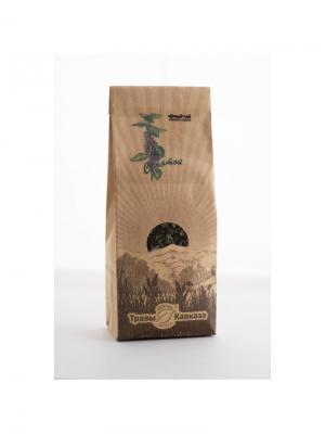 Чай черный с мятой Травы Кавказа. Цвет: бежевый