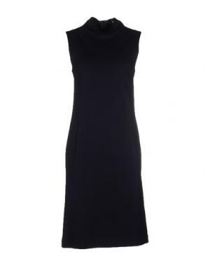 Платье до колена DAKS LONDON. Цвет: темно-синий