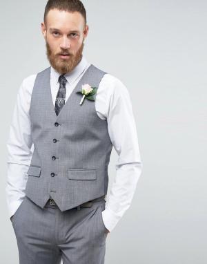Harry Brown Серый жилет. Цвет: серый