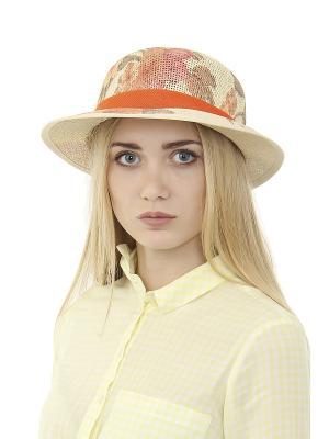 Шляпа Migura. Цвет: бежевый, оранжевый, коричневый