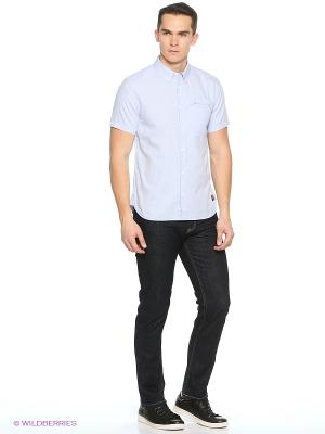 Рубашка DC Shoes. Цвет: светло-серый