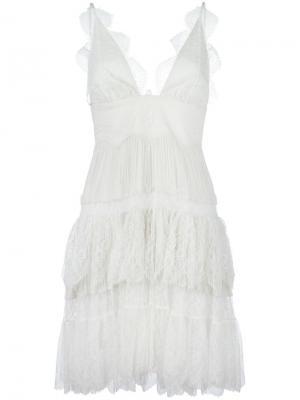 Платье Dian Maria Lucia Hohan. Цвет: белый