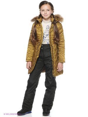 Пальто NIKASTYLE. Цвет: бронзовый