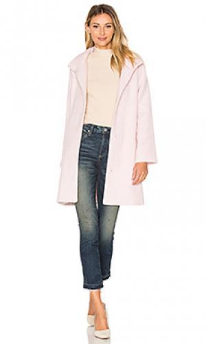 Пальто aubrey cupcakes and cashmere. Цвет: розовый