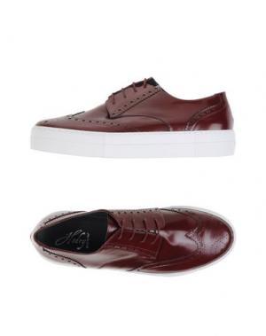 Обувь на шнурках HODRY. Цвет: красно-коричневый