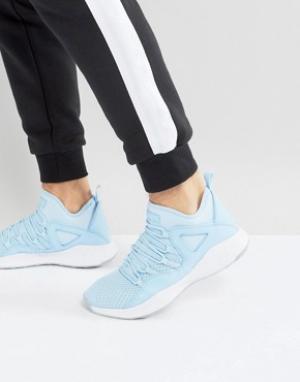 Jordan Синие кроссовки Nike Formula 23 881465-406. Цвет: синий