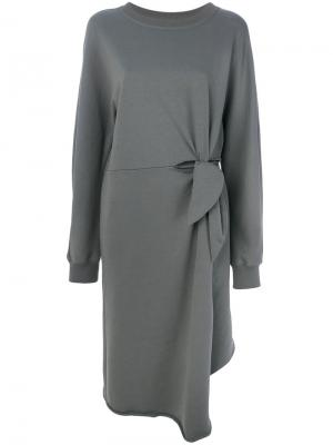Платье Dev Damir Doma. Цвет: серый