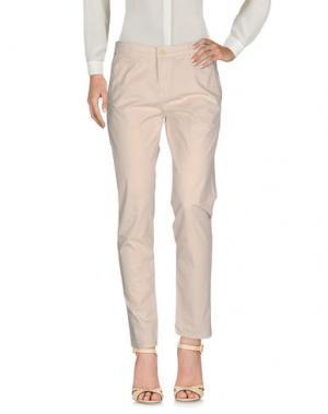 Повседневные брюки FRACOMINA. Цвет: бежевый