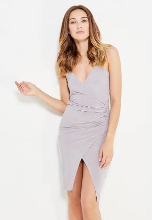 Платье Edge Street. Цвет: серый