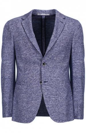 Пиджак со значком Cantarelli. Цвет: синий