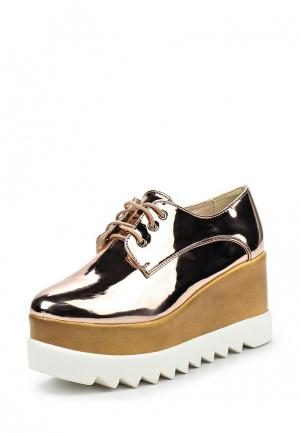 Ботинки Bellamica. Цвет: золотой