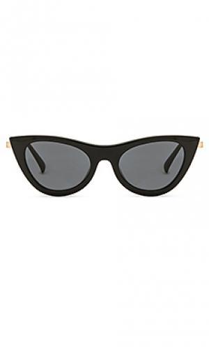 Солнцезащитные очки enchantress Le Specs. Цвет: черный